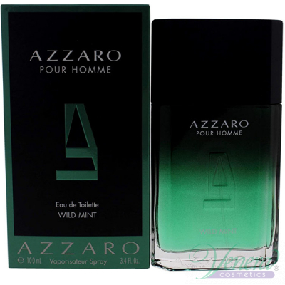 Azzaro Pour Homme Wild Mint EDT 100ml pentru Bărbați