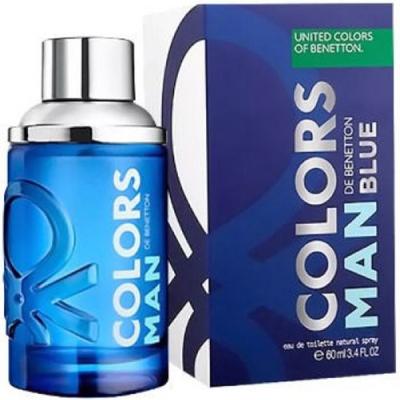 Benetton Colors Man Blue EDT 60ml pentru Bărbați Arome pentru Bărbați