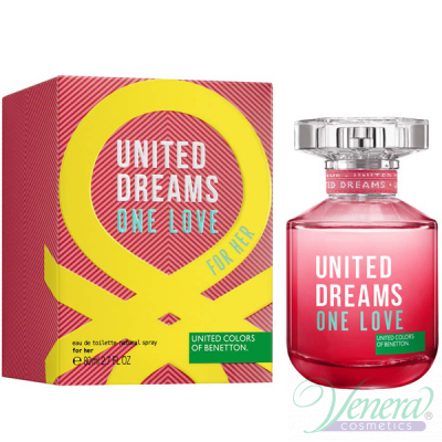 Benetton United Dreams One Love EDT 80ml pentru Femei