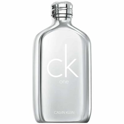 Calvin Klein CK One Platinum Edition EDT 100ml pentru Bărbați și Femei produs fără ambalaj. Produse fără ambalaj Unisex Fragrances