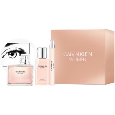 Calvin Klein Women Set (EDP 100ml + EDP 10ml + BL 100ml) pentru Femei