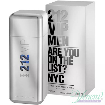 Carolina Herrera 212 VIP Men EDT 50ml for Men Men's Fragrance