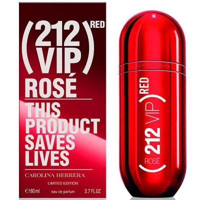 Carolina Herrera 212 VIP Rose Red EDP 80ml pentru Femei Parfumuri pentru Femei