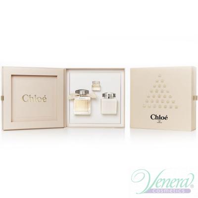 Chloe Set (EDP 75ml + EDP 5ml + BL 100ml) pentru Femei Sets