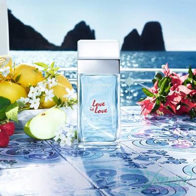 Dolce&Gabbana Light Blue Love Is Love Pour Femme EDT 100ml pentru Femei produs fără ambalaj Produse fără ambalaj