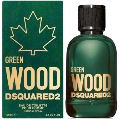Dsquared2 Green Wood EDT 100ml pentru Bărbați Arome pentru Bărbați