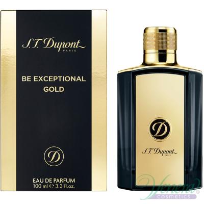 S.T. Dupont Be Exceptional Gold EDT 100ml pentru Bărbați produs fără ambalaj Produse fără ambalaj