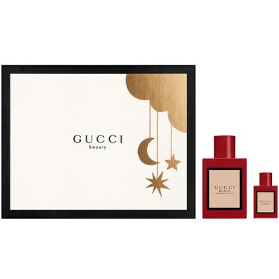 Gucci Bloom Ambrosia di Fiori Set (EDP 50ml + EDP 5ml) pentru Femei Seturi