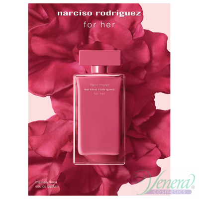 Narciso Rodriguez Fleur Musc Set (EDP 100ml + EDP 10ml + BL 75ml) pentru Femei