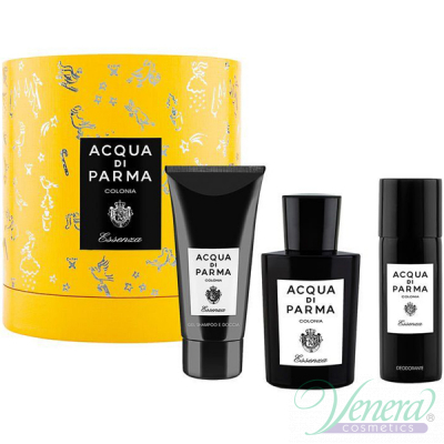 Acqua di Parma Colonia Essenza Set (EDC 100ml + SG 75ml + Deo Spray 50ml) pentru Bărbați și Femei Unisex Gift sets