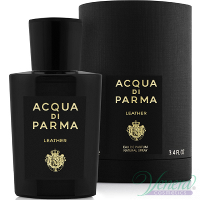 Acqua di Parma Leather Eau de Parfum 100ml pentru Bărbați și Femei fără de ambalaj Produse unisex fără ambalaj