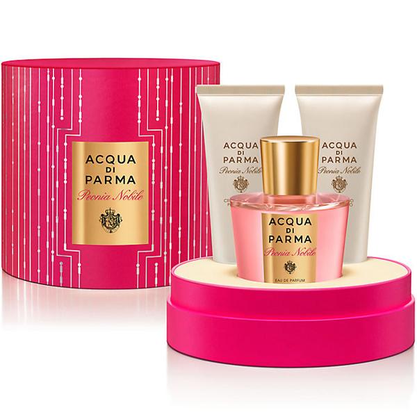 Acqua di Parma Peonia Nobile Set (EDP 100ml + Body Cream 75 + SG 75ml) pentru Femei