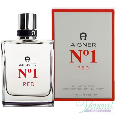 Aigner No1 Red EDT 100ml за Мъже