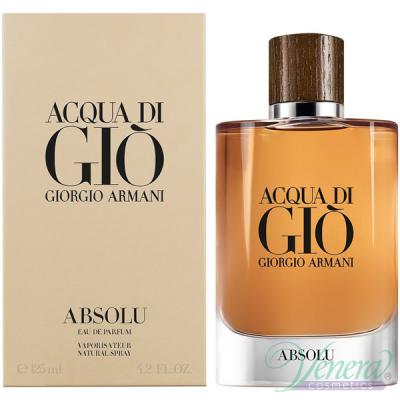 Armani Acqua Di Gio Absolu EDP 125ml pentru Bărbați Parfumuri pentru Bărbați