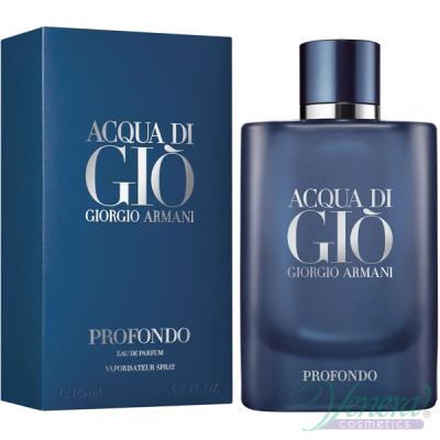 Armani Acqua Di Gio Profondo EDP 125ml pentru Bărbați Parfumuri pentru Bărbați