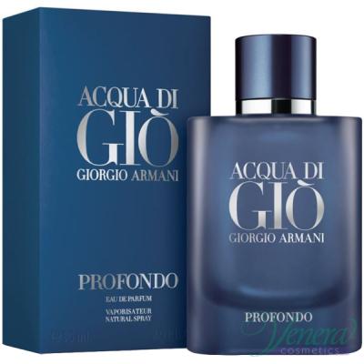 Armani Acqua Di Gio Profondo EDP 75ml pentru Bărbați