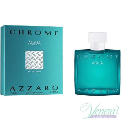 Azzaro Chrome Aqua EDT 50ml pentru Bărbați Parfumuri pentru Bărbați