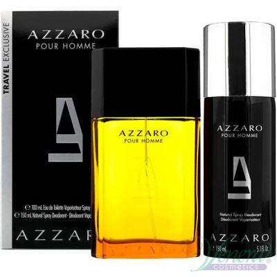 Azzaro Pour Homme Set (EDT 100ml + Deo Spray 150ml) pentru Bărbați