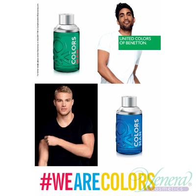 Benetton Colors Man Blue EDT 100ml pentru Bărbați Arome pentru Bărbați