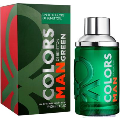 Benetton Colors Man Green EDT 100ml pentru Bărbați Arome pentru Bărbați