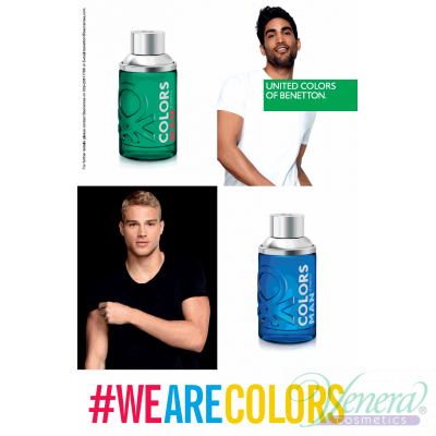 Benetton Colors Man Green EDT 200ml pentru Bărbați
