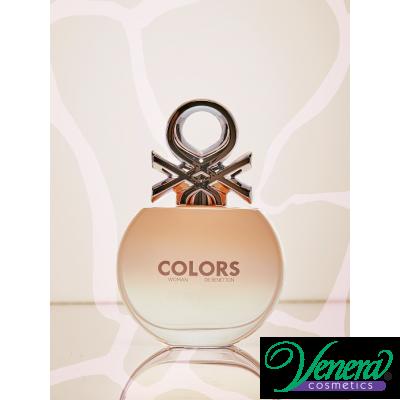 Benetton Colors Woman Rose EDT 80ml pentru Femei Parfumuri pentru Femei