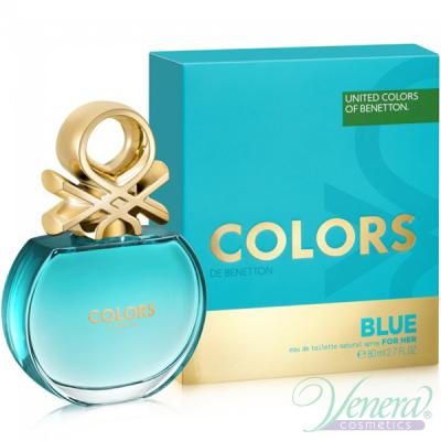Benetton Colors de Benetton Blue EDT 80ml pentru Femei AROME PENTRU FEMEI