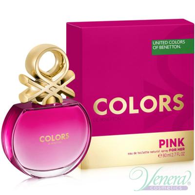Benetton Colors de Benetton Pink EDT 80ml pentru Femei AROME PENTRU FEMEI