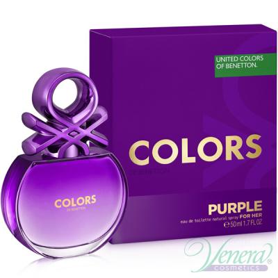 Benetton Colors de Benetton Purple EDT 50ml pentru Femei Parfumuri pentru Femei