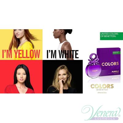 Benetton Colors de Benetton Purple EDT 80ml pentru Femei Parfumuri pentru Femei