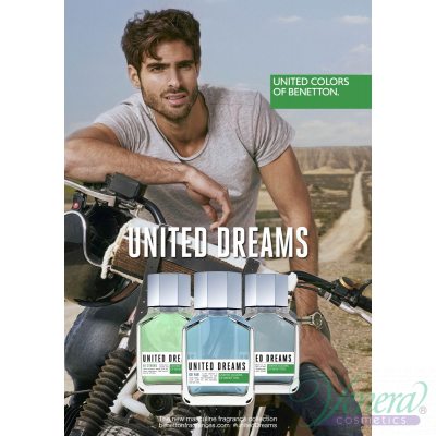 Benetton United Dreams Men Be Strong EDT 100ml pentru Bărbați