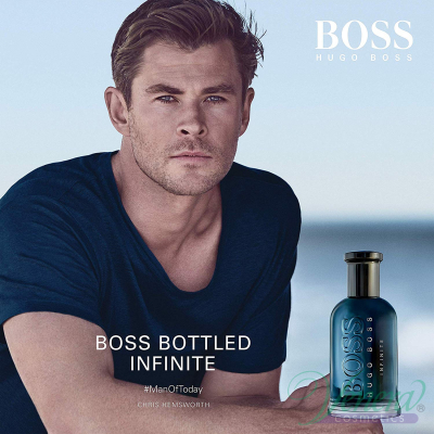 Boss Bottled Infinite Set (EDP 50ml + SG 100ml) pentru Bărbați Seturi