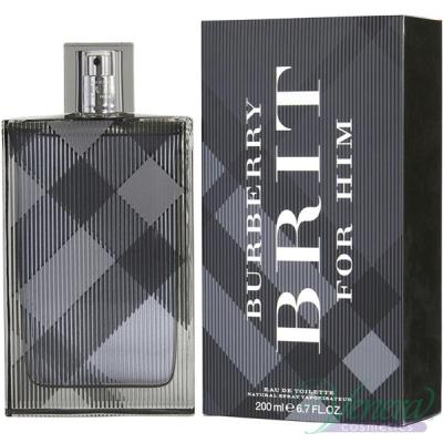Burberry Brit EDT 200ml pentru Bărbați AROME PENTRU BĂRBAȚI