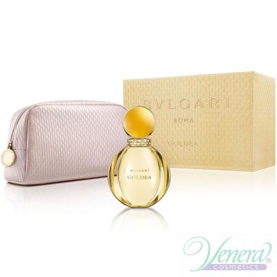 Bvlgari Goldea Set (EDP 90ml + Bag) pentru Femei Seturi Cadou