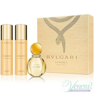 Bvlgari Goldea Set (EDP 50ml + BL 200ml + SG 200ml) pentru Femei Seturi Cadou