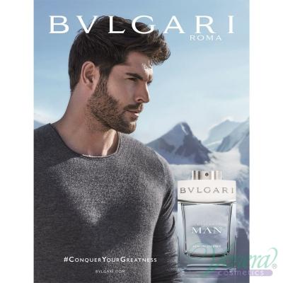 Bvlgari Man Glacial Essence Set (EDP 100ml + EDP 15ml) pentru Bărbați Parfumuri pentru bărbați