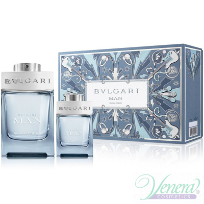 Bvlgari Man Glacial Essence Set (EDP 100ml...