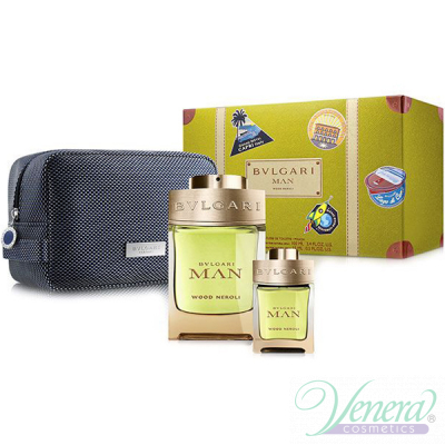 Bvlgari Man Wood Neroli Set (EDP 100ml + E...
