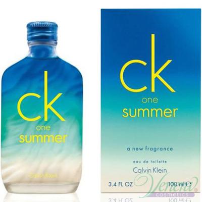 Calvin Klein CK One Summer 2015 EDT 100ml pentru Bărbați and Women Women's Fragrance