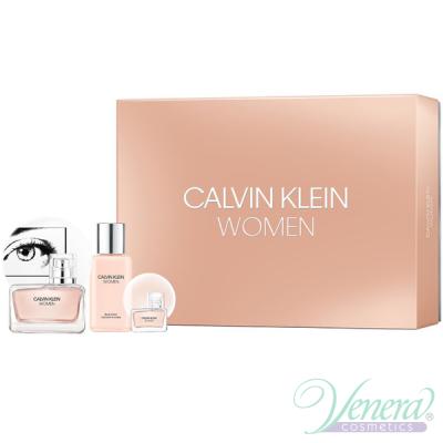 Calvin Klein Women Set (EDP 50ml + EDP 5ml + BL 100ml) pentru Femei Seturi