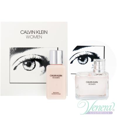 Calvin Klein Women Set (EDP 100ml + BL 100ml) pentru Femei
