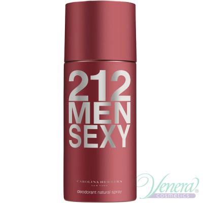 Carolina Herrera 212 Sexy Deo Spray 150ml pentru Bărbați Produse pentru îngrijirea tenului și a corpului