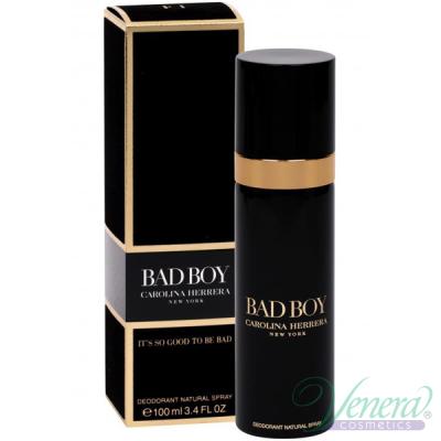 Carolina Herrera Bad Boy Deo Spray 100ml pentru Bărbați Produse pentru îngrijirea tenului și a corpului