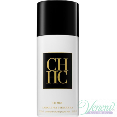 Carolina Herrera CH Deo Spray 150ml pentru Bărbați Men's face and body products