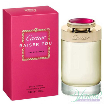 Cartier Baiser Fou EDP 50ml for Women Women's Fragrance