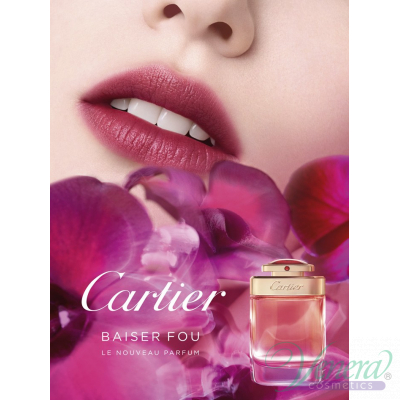 Cartier Baiser Fou EDP 75ml for Women Women's Fragrance
