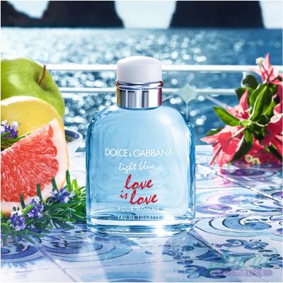 Dolce&Gabbana Light Blue Love Is Love Pour Homme EDT 125ml pentru Bărbați Arome pentru Bărbați