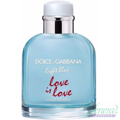 Dolce&Gabbana Light Blue Love Is Love Pour Homme EDT 125ml pentru Bărbați produs fără ambalaj Produse fără ambalaj