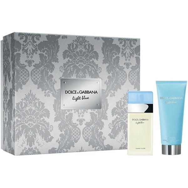 Dolce&Gabbana Light Blue Set (EDT 50ml + Body Lotion 100ml) pentru Femei
