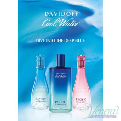 Davidoff Cool Water Sea Rose Pacific Summer EDT 100ml pentru Femei fără de ambalaj Women's Fragrances without package